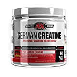 German Creatine (300g Creapure, the Purest Creatine Monohydrate Available) – 60 Servings For Sale