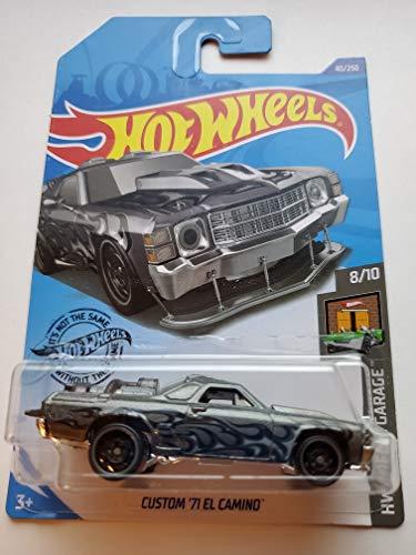 Hot Wheels 2020 Hw Dream Garage Custom '71 El Camino, 40/250 Gray