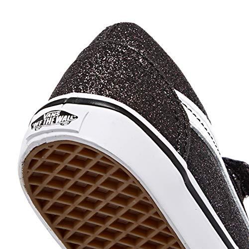 fe741f8a98ceb Amazon.com: Vans TD Old Skool V Black Glitter Stars Canvas 8.5 M US ...