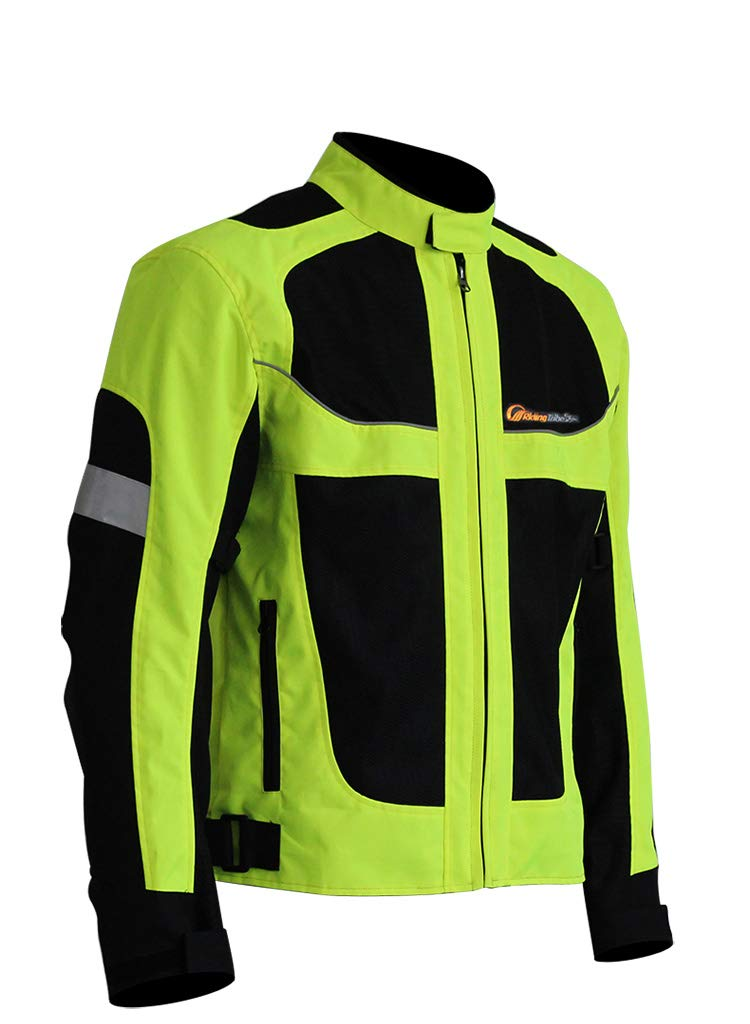 Ocamo Men Motorcycle Riding Clothing Breathable Racing Motorcycle Suit for Summer 4XL