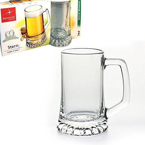 Confezione 2 boccali birra 51 cl BORMIOLI ROCCO Linea Stern
