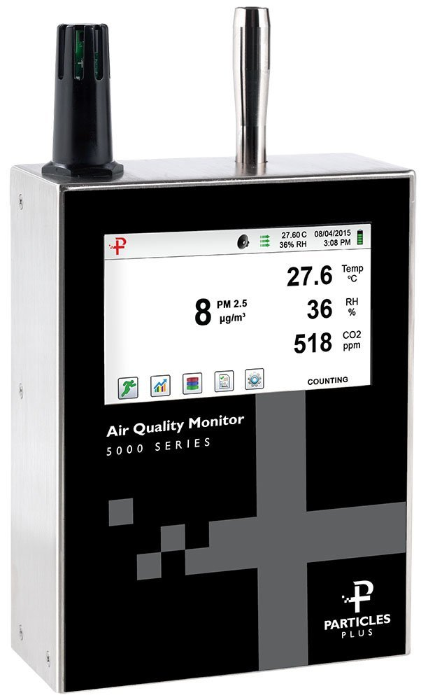 Particles Plus 5302-AQM Air Quality Monitor