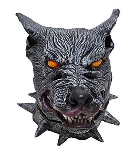 Warewolf Masks (Crazy Balck Wolf Halloween Masquerade Party Cosplay Latex Mask 2014 HLWMSK15)