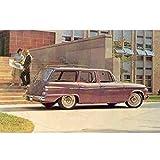 1962 Studebaker Lark Station Wagon Postcard