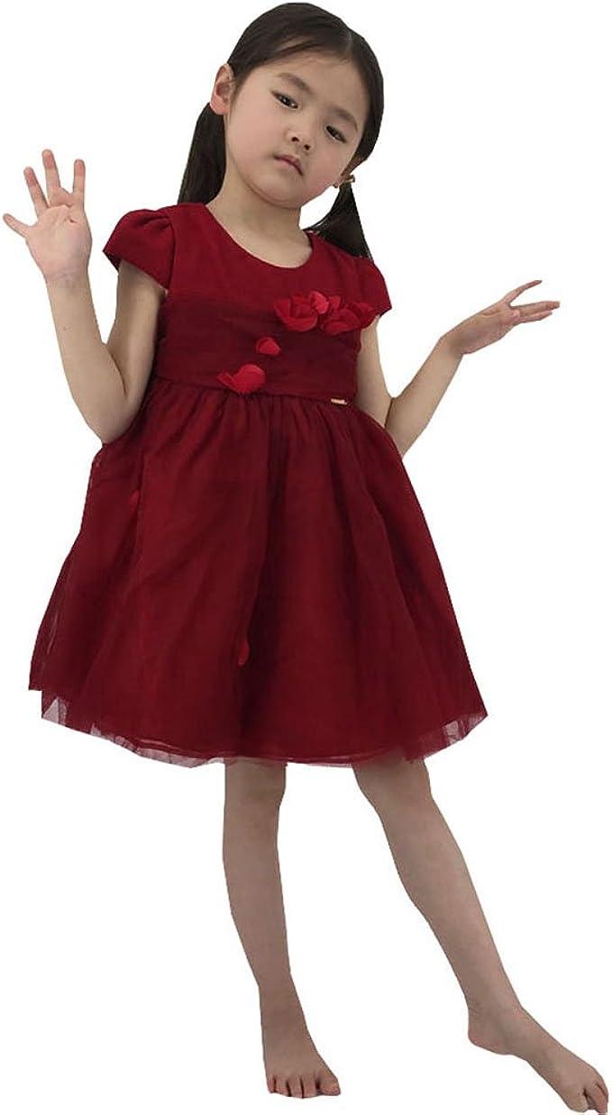 Azoramika kleider mädchen Kinderkleidung Rotes Kleid Gute Qualität