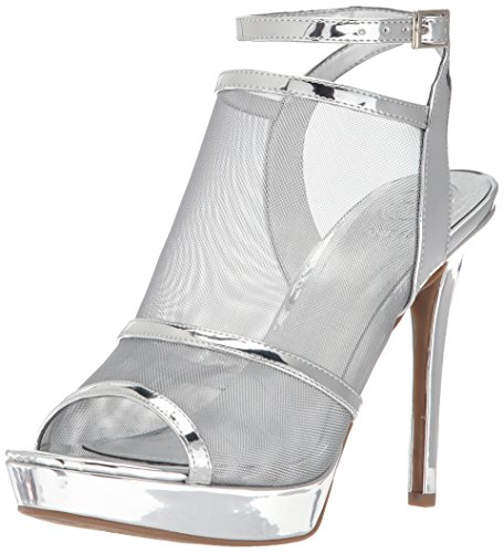 Silver Sandal Afra Women's Heeled Guess xwYW68Pqn