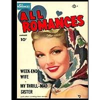 Todos los romances n. ° 6: la época dorada, el cómic romántico, 1950.