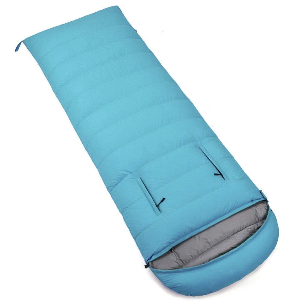 スリーピングバッグ、軽量暖かい睡眠バッグ大人封筒快適睡眠袋屋外快適さ4シーズンスリーピングパッド,red,2000g B07MX7995B lakeblue 2500g 2500g lakeblue