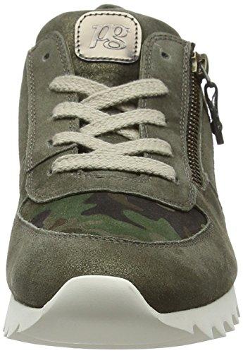 Paul Green Signore Tg Oliva Mimetica Incontrato Sneaker Verde (doliva 22)