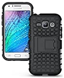 Bouclair Defender Back Cover For Samsung Galaxy J1 4G-Black