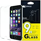 "iPhone 6 Plus Screen Protector, Bowhead iPhone 6 Plus Glass Screen Protector (5.5"")- [Tempered Glass] 9H Hardness, Bubble Free, Also Works with iPhone 6s Plus"