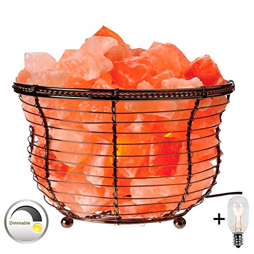 Voltas Himalayan Salt Lamp Basket