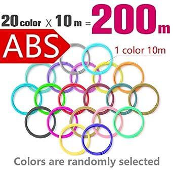 Filamento PLA/ABS para bolígrafo 3D impresión plástico 10/20 ...