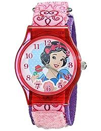 Disney Kids 'w001966Snow White analógico de cuarzo rosa Reloj