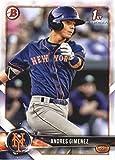 2018 Bowman Prospects #BP72 Andres Gimenez New York Mets Baseball Card