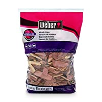 Weber disponible Stephen Products 17149 astillas de madera de mezquite, 192 cu. pulg. (0.003 c, 2 lb