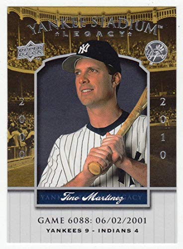 (Tino Martinez (Baseball Card) 2008 Upper Deck Yankee Stadium Legacy Collection # 6088 Mint)