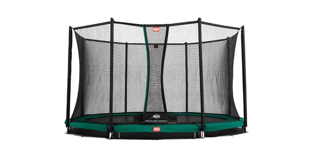 BERG InGround Favorit Trampolin 380+Sicherheitsnetz Comfort ,35.12.04.01