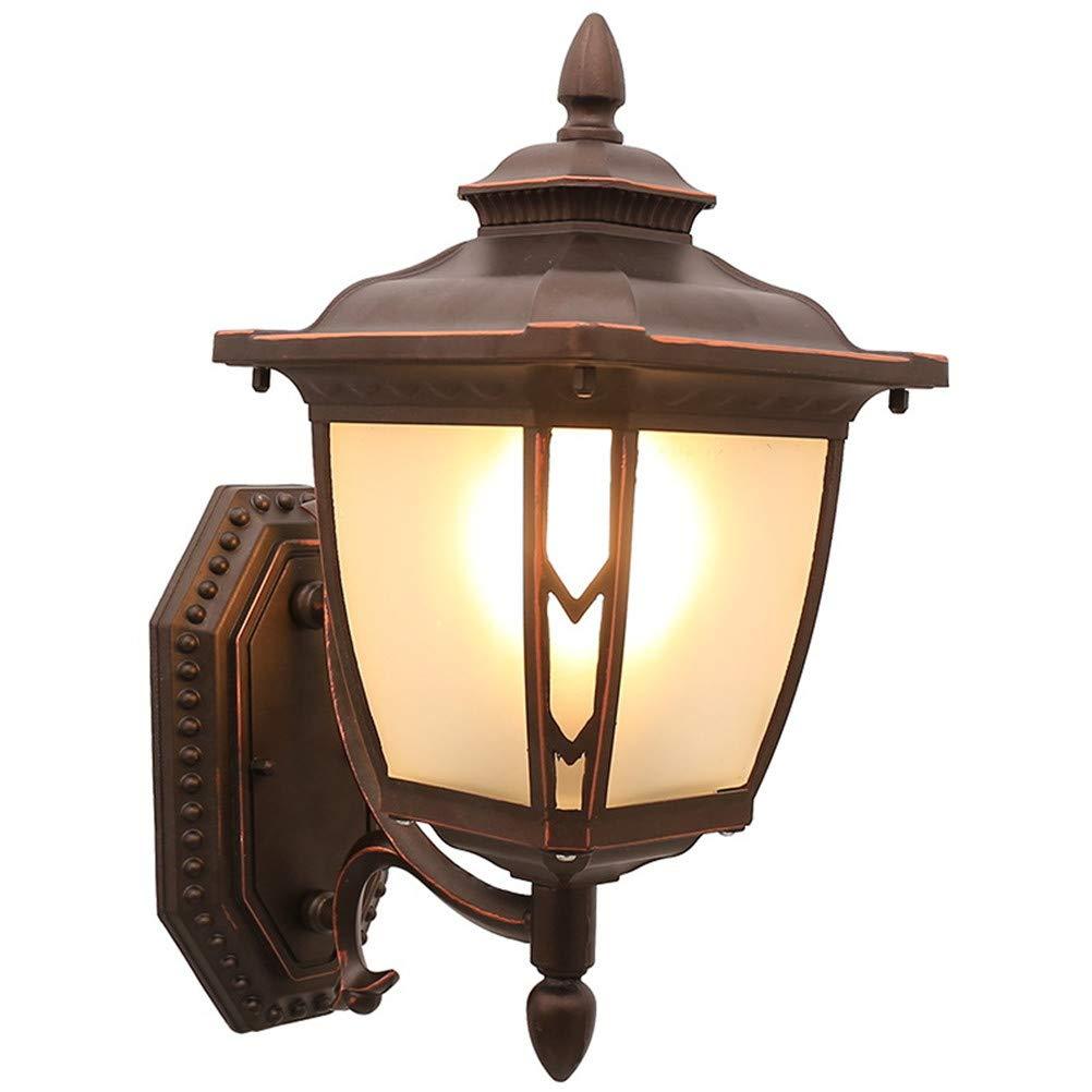 MESST Retro Outdoor-Wasserdichte Wandleuchte neues chinesisches LED-Licht, E27 Lichtquellen-Spezifikation, geeignet für Treppen, Gänge, Gänge, Outdoor-Innenhof
