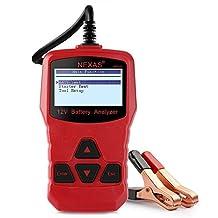 Battery Tester NexBat NB300 12V Battery Load Tester Check Car Battery Health Cranking Voltage Battery Analyzer