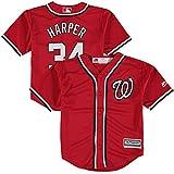 Bryce Harper Washington Nationals Red Toddler Cool Base Alternate 1 Jersey
