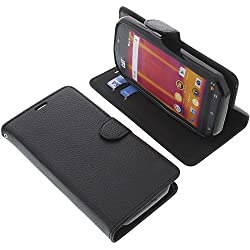 Cover for CAT S60 book-style black case