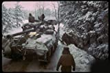 Photo American Ardennes Forest Battle of the Bulge, the last major German offensive of WWII. 1944