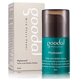 Goodal Phyto Wash Yerba Mate Bubble Peeling, 1.7 Fluid Ounce
