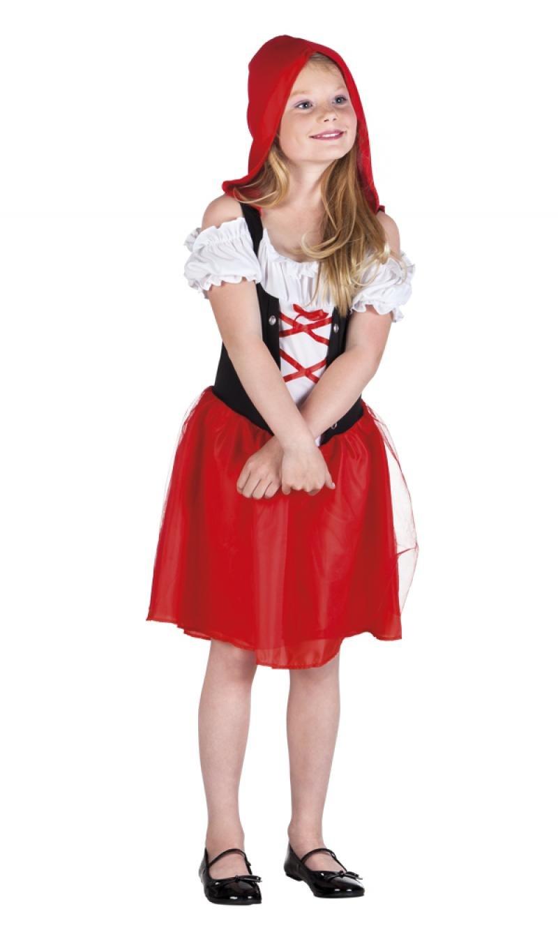 Disfraz Caperucita Roja Niña: Amazon.es: Juguetes y juegos
