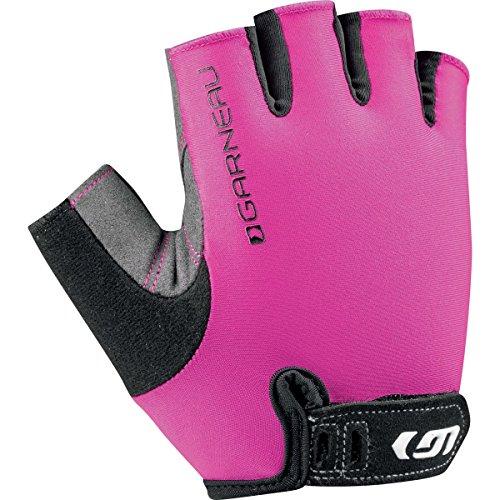 Louis Garneau Womens Top (Louis Garneau Women's 1 Calory Cycling Gloves, Pink Glow, Small)