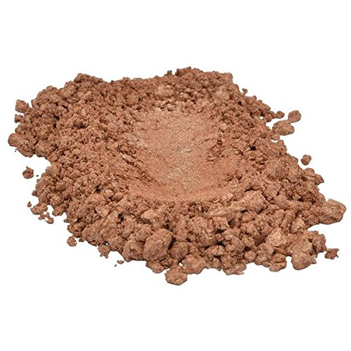 Bronze Fine/Gold/Brown/Sienna/Beige Luxury Mica Colorant Pigment Powder Cosmetic Grade Glitter Eyeshadow Effects for Soap Candle Nail Polish 1 oz