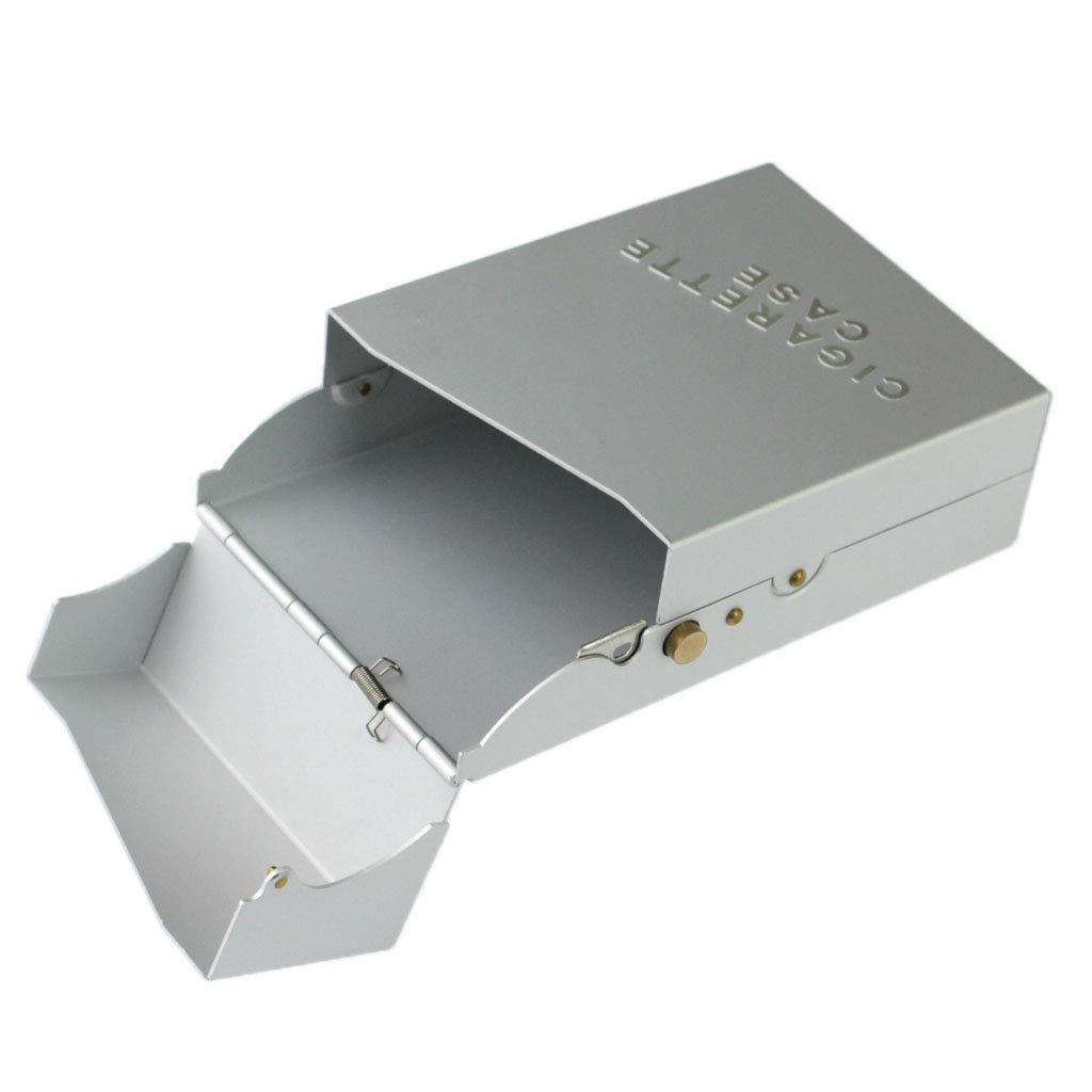 Argent Baoblaze Portable Coupe Cigare de Poche en Acier INOX