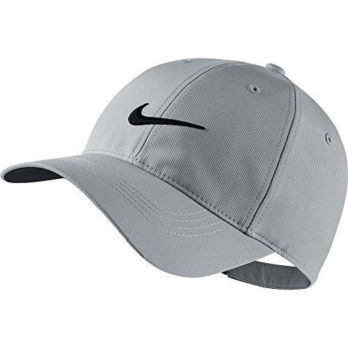NIKE Golf Tech Adjustable Cap (Wolf Grey) (Grey Hat Adjustable)
