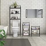Sorbus Bathroom Storage Shelf Over Toilet Space