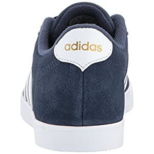 adidas Women's Shoes | Courtset Sneakers, Collegiate Navy/White/Metallic Gold, (8.5 M US)