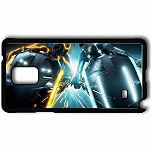Personalized Samsung Note 4 Cell phone Case/Cover Skin 2010 tron legacy movies tron legacy Black