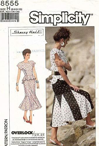 Simplicity 8555 2 Piece Dress