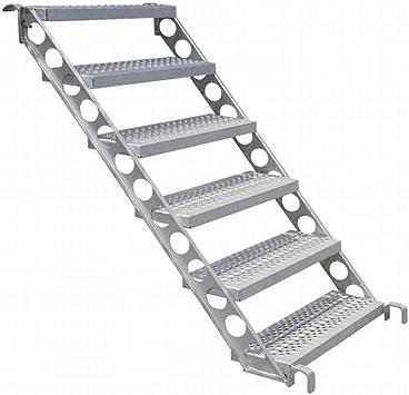 Diseño Escaleras, construcción Escaleras, Exterior Escaleras F. 1 m de altura, 45 grados 80 cm de ancho: Amazon.es: Bricolaje y herramientas