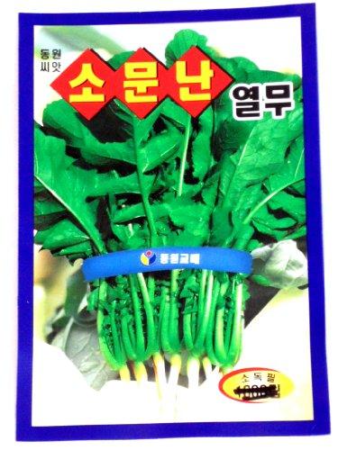 Yeolmu Seeds Korean. 2 Pack(4grams-each)