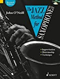 Jazz Method for Saxophone (with Audio CD) for Alto Saxes