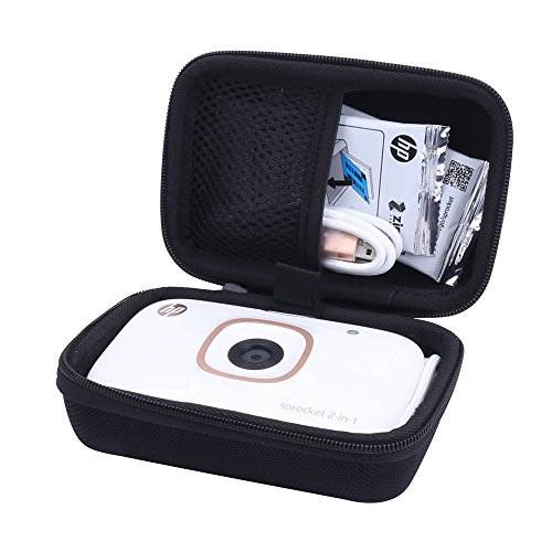 Aenllosi Hard Case for HP Sprocket 2-in-1 Photo Printer&Instant Camera by (Black) by Aenllosi