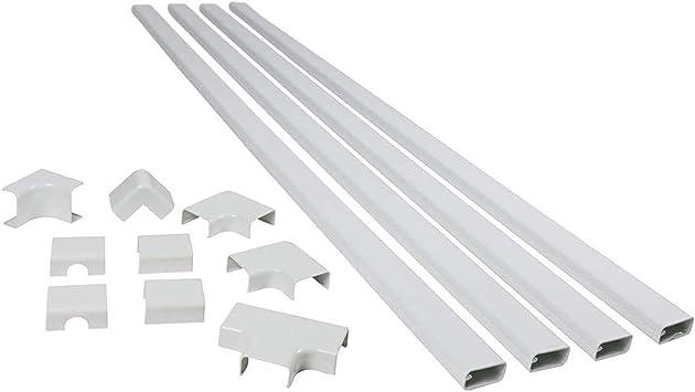 WMC501 New Legrand Wiremold CordMate II Cord Cover Kit White