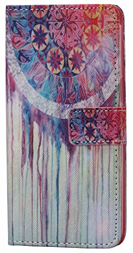 Galaxy Grand Prime G530 WIITOP Kickstand Flip Case Wallet Case Money Card Slot[Watercolor fill Monternet] Premium Soft TPU Synthetic Leather Flip Cover