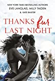 Thanks Fur Last Night by  Eve Langlais in stock, buy online here
