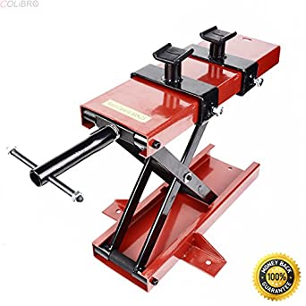 Amazon com: COLIBROX--New 1100 LB Mini Scissor Lift Jack ATV