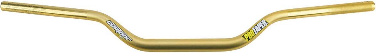 Gold CR Mid Oversized 1-1//8 Pro Taper Contour Handlebars