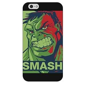 """UniqueBox Customized Marvel Series Case for iPhone 6+ Plus """", Marvel Comic Hero Hulk iPhone 5c"""
