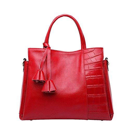 Mena UK-delle nuove donne casuale semplice del coccodrillo del modello Pelle artificiale casuale pelle morbida borsa / Tracolla / Messenger Bag