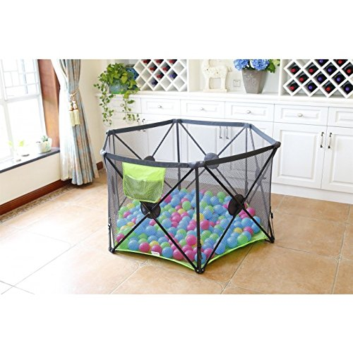 Beautiful Callowesse Pop Up And Play Secure Easy Fold Playpen Baby Playpens & Play Yards