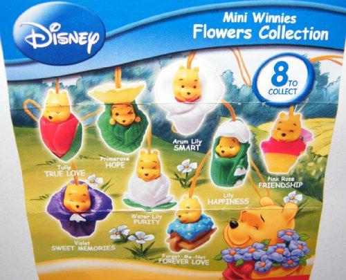 Winnie the Pooh Peek a Pooh Figure Set Flowers Collection Series 21